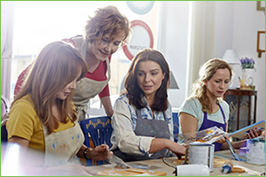 Occupational Therapy at Home - Leisure and Crafts Classes