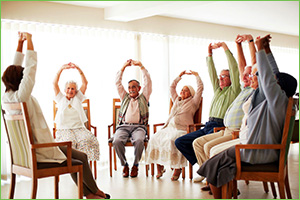 Occupational Therapy at Home - Seated Group Classes